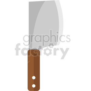 isometric butcher knife vector icon clipart 2 clipart. Commercial use image # 414266