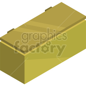 isometric freezer vector icon clipart 4 clipart. Commercial use image # 414288