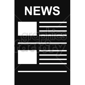 isometric newspaper vector icon clipart 3 clipart. Royalty-free image # 414341