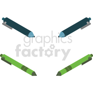 isometric pen vector icon clipart 1 clipart. Commercial use image # 414346