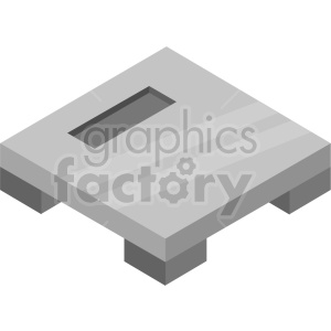 isometric body scale vector icon clipart 2 clipart. Commercial use image # 414490