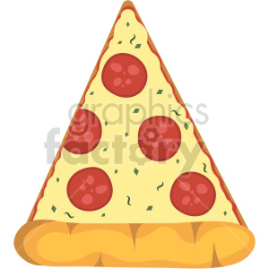 pizza slice vector clipart clipart. Commercial use image # 414801