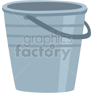 mini garden metal bucket vector clipart clipart. Commercial use image # 414847