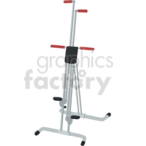 exercise machine vector graphic clipart. Commercial use image # 414912
