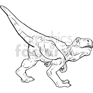 dinosaur vector graphic clipart. Commercial use image # 415139