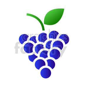 grape vector clipart 03 clipart. Commercial use image # 415183