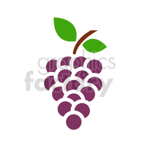 grape vector icons 6 clipart. Commercial use image # 415202