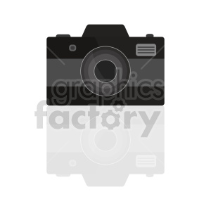 camera clipart with reflection clipart. Commercial use image # 415223
