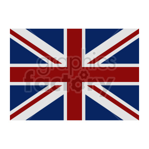 Great Britain flag vector clipart 04 clipart. Commercial use image # 415342