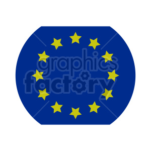 Flag of Europe vector clipart 06 clipart. Commercial use image # 415367