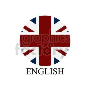 UK flag vector design 03 clipart. Commercial use image # 415372