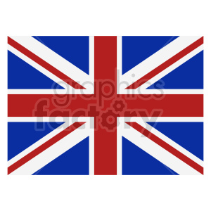 Great Britain flag vector clipart 03 clipart. Commercial use image # 415427