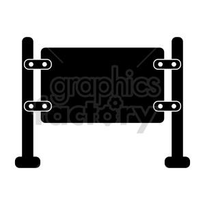 clipart - blank sign vector clipart.