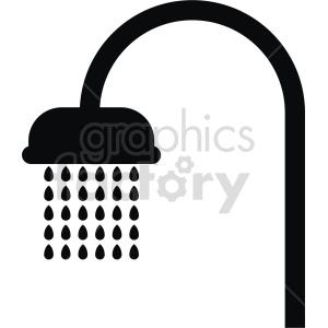 clipart - shower vector clipart.