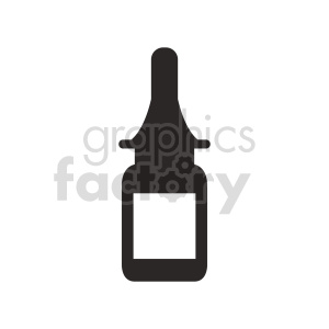 glass bottle vector clipart clipart. Commercial use image # 415604