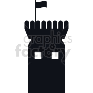 castle tower clipart clipart. Commercial use icon # 415656