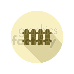 fence vector icon clipart. Commercial use image # 415711
