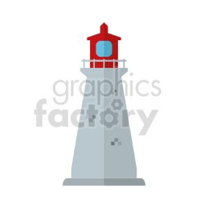 lighthouse vector clipart clipart. Commercial use image # 415734