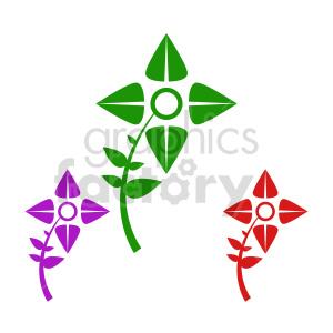 flower bundle vector design 6 clipart. Commercial use image # 415777