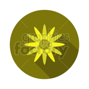 flower vector clipart design 3 clipart. Commercial use image # 415824