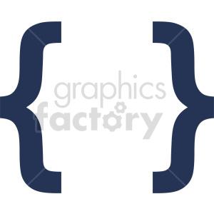 clipart - graffa symbol vector graphic.