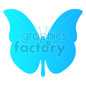 butterfly vector clipart 010 clipart. Commercial use image # 415932