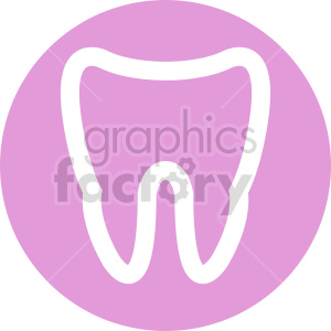 tooth icon vector set clipart. Commercial use image # 415994