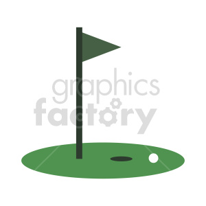 golf green vector clipart clipart. Commercial use image # 416006