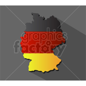 clipart - germany flag vector graphic.