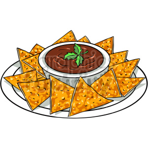 nachos vector clipart clipart. Commercial use image # 416145