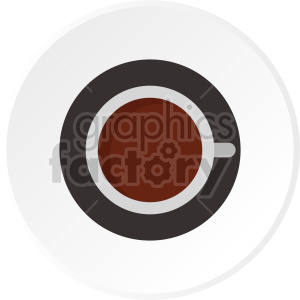 tea cup on saucer vector clipart clipart. Commercial use image # 416208