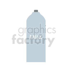 milk bottle vector graphic clipart. Commercial use image # 416219