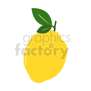 lemon vector illustration clipart. Commercial use image # 416233