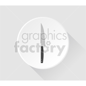 sharp knife vector clipart clipart. Commercial use image # 416264