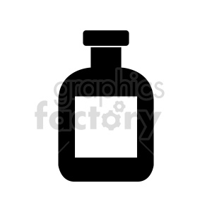 bottle vector graphic clipart. Commercial use image # 416274