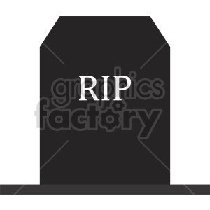 rip tombstone icon design clipart. Commercial use image # 416333