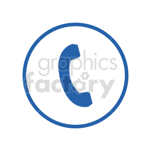 phone icon clipart. Commercial use image # 416349