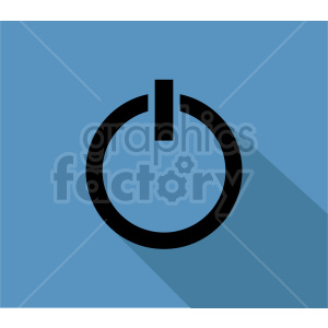 power icon vector clipart clipart. Commercial use image # 416363