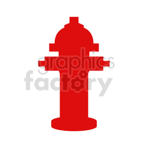 fire hydrant vector icon clipart. Commercial use image # 416427