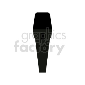 black microphone vector clipart clipart. Commercial use image # 416457