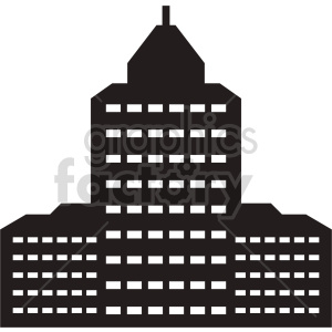 building vector icon clipart. Commercial use image # 416507