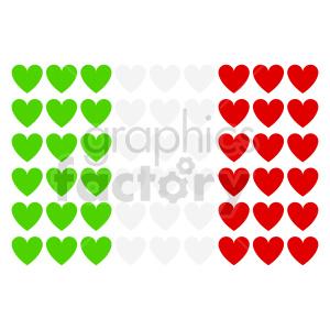 italy love vector clipart