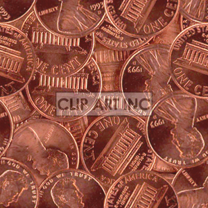 102605-pennies background. Royalty-free background # 128183