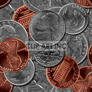 102705-spare-change clipart. Royalty-free image # 128203