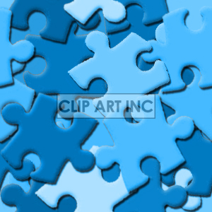 seamless puzzle piece background background. Royalty-free background # 128213