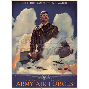war posters world II   MPW00089 Clip Art Old War Posters