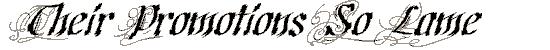 cretino font. Royalty-free font # 174553