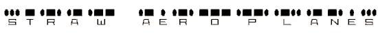 radiosin font. Royalty-free font # 174885