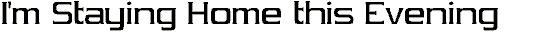 vibrocen font. Royalty-free font # 174932