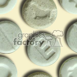 ecstasy illegal drugs clipart. Royalty-free image # 371193
